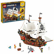 Lego Creator 3 In 1 Pirate Ship 31109 Building Playset New 2020 1,260 Pieces