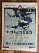 Original Wwi Poster Stop Ammonia Leaks If You Are A Patriot This Is Your Fight