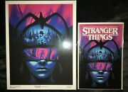 Stranger Things Into The Fire Dark Horse Exclusive Comic And Lithograph 195/300