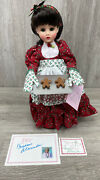 Madame Alexander Doll Christmas Cookie 14 Mint + Box, Tags, Tray, Vintage