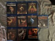 Halloween Complete Collection Blu-ray 1,2,3,4,5,6,7,8,rz1and2