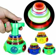 Proloso 12 Pack Led Spinning Tops Peg Top Light Up Music Spin Toys Glow In...