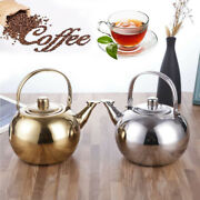 Stove Top Whistling Tea Kettle Only Culinary Grade Stainless Steel Teapot 1pc