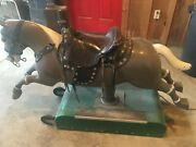 Original Coin Operated 25 Cent Sandy Riding Horse Fully Functional