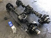Pair Ford Dana 60 Front Axle King Pin + Gm Corporate 14 Bolt Rear F350 Jeep Swap