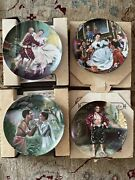 Lot Knowles Collector Plates King And I Sound Of Music Gone With The Wind Rockwell