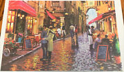New Coffee Street 1000 Piece Jigsaw Puzzle By Hao Xiang No. 88336, Cafe, Bistro