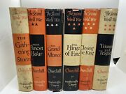 The Second World War By Winston Churchill Complete 6 Vol Set First Editions
