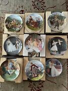 Lot Of 9 Knowles Collector Plates Sound Of Music