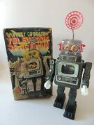 Television Spaceman Robot - Apls Made In Japan 50and039 - Not Working Cd