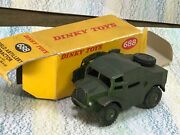 Dinky Toys 688 Field Artillery Tractor Vg In Good Box Army Early Version
