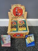 Looney Tunes Wotc Booster Box 35 Sealed Unopened Packs Trading Cards Space Jam