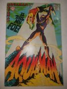 Silver Age Aquaman 42 Black Manta Cover And 2nd Appearance 1968 Nick Cardy