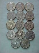 1979 Andndash1999 Susan B Anthony Dollar Complete 14 Coin Uncirculated/proof