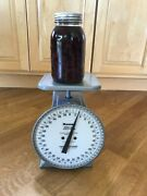 Vintage 1940and039s Hanson Industrial Utility Scale Model 2060 - Farmhouse Style