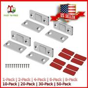 Drawer Magnetic Door Catch Ultra Thin Cabinet Furniture Latch For Sliding 1-50