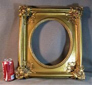 Picture Frame Antique Victorian 12 X 12 Oval Solid Porcelain Early 1900`s Heavy