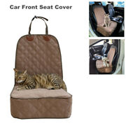 Car Front Seat Cover Non-slip For Pet Dogs Waterproof Comfortable Protector Mat