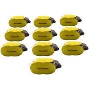 10 Pack Fit 4 X 30and039 Flat Hook Winch Straps Flatbed Truck Trailer Tie Down Strap