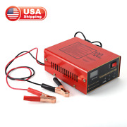 12v Digital Motorcycle Battery Charger Lead-acid And Lithium Maintenance-free