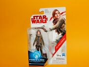 Star Wars The Last Jedi Force Link 3 3/4 Inch Jyn Erso Jedha Action Figure