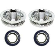 Front Wheel Hub And Bearing Kit Driver And Passenger Sides For Vw Golf Jetta New