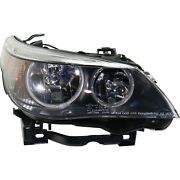 Halogen Headlight For 2004-2007 Bmw 530i Right W/ Bulb And Parking/turn Signal