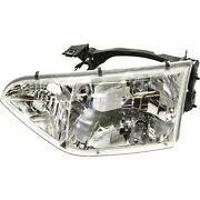 Headlight For 2001-2002 Nissan Quest Se Gle Gxe Models Left With Bulb