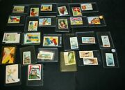 33 Vintage Non Sports Trading Cards Mixed Lot Birds Of North America Flags Worl