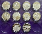 Lot Donald Trump The Best Is Yet To Come Boat Rino 1 Oz .999 Silver Round Coin