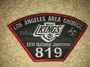 Boy Scout Los Angeles Area Kings Hockey Council 2010 National Jamboree Jsp Patch