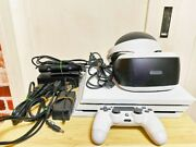 Sony Playstation 4 Pro Vr Soft Game Console Works Test Ok 100v From Japan K3824
