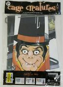 Vinyl Halloween Cage Creatures Danny Dracula Fits Over Tomato Cage Yard Decor