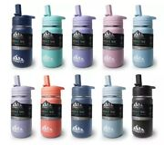Hydrapeak Mini Kids Water Thermos With Straw Lid 14oz - Choose Your Color