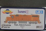 Athearn Genesis Ho Gp38-2 Elgin, Joliet And Eastern Athg68186 With Sound Last One