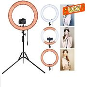 Led Selfie Ring Light Steeples Dimming Tripod Stand Photography Makeup Lamp Kits