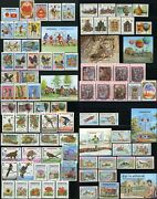 Cambodia 374-457 Postage Stamp Collection Asia Republic Kampuchea 1983 Mint Nh