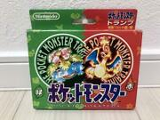 Pokemon Poker Card Red And Green Playing Cards 1996 Very Rare Charizard From Jp