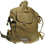 Vintage Soviet Army Duffle Bag Military Backpack Rucksack Russian Ussr Wwii Type