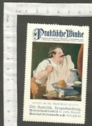Aop Germany Advertisement Poster Stamp Druggists And Mineral Water Factory