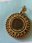 Genuine 1899 Indian Head Penny In Unbranded Jewelry Pendant
