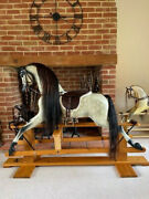 'kipper' Large Haddon Rockers Rocking Horse - Free Delivery