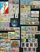 Cambodia 458-547 Postage Stamp Collection Asia Republic Kampuchea 1984 Mint Nh