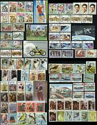 Cambodia 548-644 Postage Stamp Collection Asia Republic Kampuchea 1985 Mint Nh