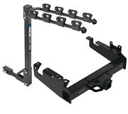 Trailer Tow Hitch For 19-21 F-350 F-450 F-550 Super Duty Cab Chasis 4 Bike Carry
