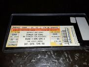 2008 Stanley Cup Finals Game 2 Ticket Red Wings Vs Penguins May 26 2008
