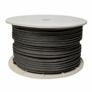 1/2 Inch X 600 Ft Black Double Braid Nylon Rope Spool For Boats 50-47080