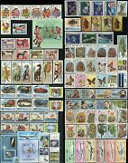 Cambodia 645-659 663-748 Postage Stamp Collection Asia Kampuchea 1986 Mint Nh