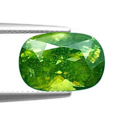 Sphene/titanite 10.27ct Aaa Multi Color Green 100 Natural Earth Mined Russia