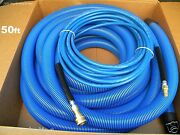 Carpet Cleaning 50ft Vacuum Solution Hoses 1.5 Wand Cuff